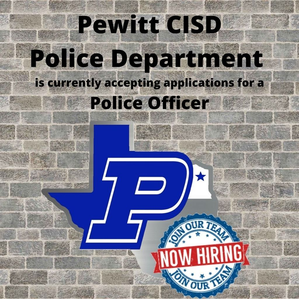 Now Hiring - Police Officer